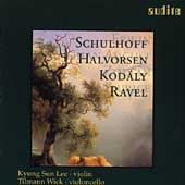 Ravel, Schulhoff, Kodaly / Lee, Wick