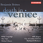 Britten: Death in Venice / Hickox, Chance, Langridge