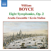 Boyce: Eight Symphonies, Op 2 / Mallon, Aradia Ensemble