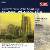 Masterworks for Organ and Orchestra - Guilmant, et al / Hauk