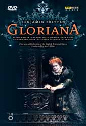 Britten: Gloriana / Mark Elder/English Nat'l Opera, Sarah Walker, Anthony Rolfe Johnson, Jean Rigby [DVD]