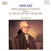 Mozart: String Quartets Vol. 4