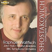 Shostakovich: Complete Cello Works / Wallfisch