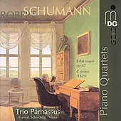 Schumann: Piano Quartets / Schlichtig, Trio Parnassus