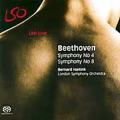 Beethoven: Symphonies no 4 & 8 / Haitink, London SO