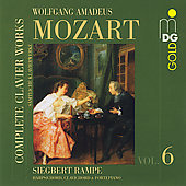 Mozart: Complete Keyboard Music Vol 6 / Rampe