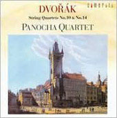 Dvorak: String Quartets no 10 & 14 / Panocha Quartet