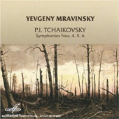 Tchaikovsky: Symphony no 4, 5 & 6 / Mravinsky, Leningrad PO