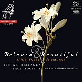 Beloved & Beautiful - Meine Freundin du bist sch&ouml;n / Veldhoven, Netherlands Bach Societyl