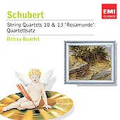 Encore - Schubert: String Quartet no 10, 12 & 13, etc / Belcea String Quartet