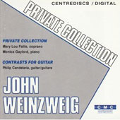 John Weinzweig: Private Collection