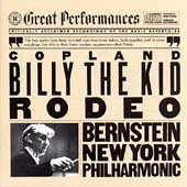 Copland: Billy the Kid, Rodeo / Bernstein, New York PO