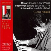 Mozart, Beethoven, Schubert: Piano Sonatas