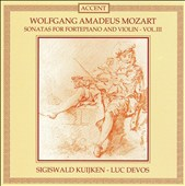 Mozart: Sonatas for Piano and Violin, Vol. 3