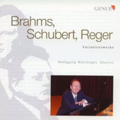 Brahms, Schubert, Reger: Variation Works