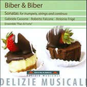 Biber & Biber: Sonatas for Trumpets, Strings and Continuo