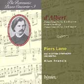 The Romantic Piano Concerto Vol 9 - d'Albert / Lane