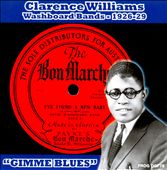 Clarence Williams: Washboard Bands 1926-1929