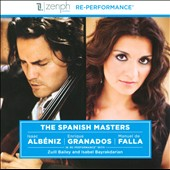 The Spanish Masters: Albeniz, Granados, Falla / Zuill Bailey, cello; Isabel Bayrakdarian, piano