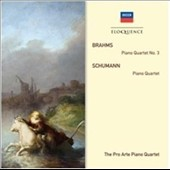 Brahms: Piano Quartet No. 3; Schumann: Piano Quartet / Pro Arte Piano Quartet