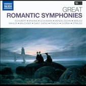 Great Romantic Symphonies - Schubert, Brahms, Mendelssohn Berlioz, Mahler et al. [10 CDs]