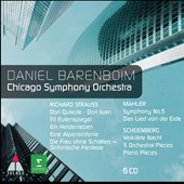 Daniel Barenboim & the Chicago SO / Richard Strauss, Mahler, Schoenberg