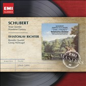 Schubert: Trout Quintet; Wanderer Fantasy / Sviatoslav Richter, piano; Borodin Quartet; Georg Hortnagel