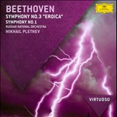 Beethoven: Symphonies Nos. 1 & 3 / Russian Nat'l Orch., Pletnev
