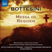 Giovanni Bottesini: Messa da Requiem / Matheu; Coma-Alabert; Prunell-Friend; Martinez-Castignani