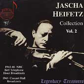 Jascha Heifetz Collection Vol 2,