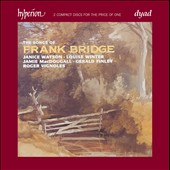 The Songs of Frank Bridge / Janice Watson, Gerald Finley, Louise Winter, Jamie MacDougall, Roger Vignoles (pno)