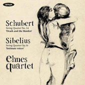 Schubert: String Quartet No. 14 'Death and the Maiden'; Sibelius: String Quartet Op. 56 'Intimate Voices'