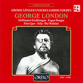 Grosse S&auml;nger Unseres Jahrhunderts - George London