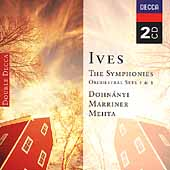 Ives: Symphonies, Orchestral Sets / Dohn&aacute;nyi, Marriner, etc