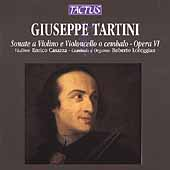 Tartini: Violin Sonatas Op 6 / Casazza, Loreggian
