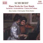 Schubert: Piano Works for Four Hands / Gulda, Hinterhuber