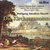 Mozart: Church Sonatas / Geffert, JC Bach Akademie