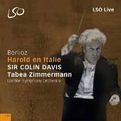 Berlioz: Harold in Italy / Davis, Zimmermann, London SO