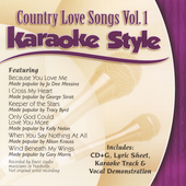 Karaoke: Karaoke Style: Country Love Songs, Vol. 1