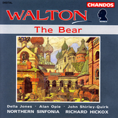Walton: The Bear / Hickox, Northern Sinfonia