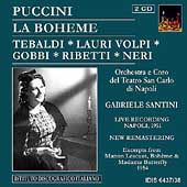 Puccini: La Boh&#232;me, etc / Santini, Tebaldi, et al