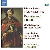 Froberger: Toccatas and Partitas, etc / Sergio Vartolo