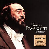 Luciano Pavarotti Live in Italy