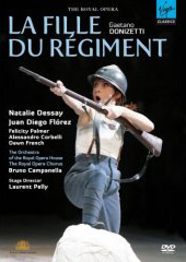 Donizetti: La Fille du Regiment (The Daughter of the Regiment) / Campanella/Royal Opera House, Dessay, Florez, Palmer [DVD]