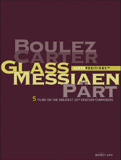 Juxtapositions / Boulez; Carter; Glass; Messiaen; Part [5 DVD]