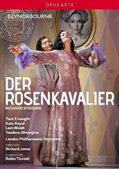 Richard Strauss: Der Rosenkavalier / Tara Erraught, Kate Royal, Lars Woldt, Teodora Gheorghiu, Michael Kraus, Miranda Keys. Robin Ticciati, Glyndebourne, 2014 [DVD]