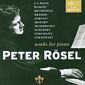 Piano Works - Busoni, Beethoven, et al / Peter R&ouml;sel
