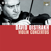 Historic Russian Archives - Oistrakh plays Violin Concertos