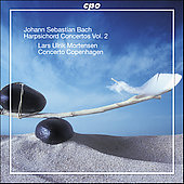 Bach: Harpsichord Concertos Vol 2 / Mortensen, et al