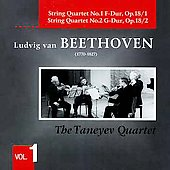 Beethoven: String Quartets / Taneyev Quartet